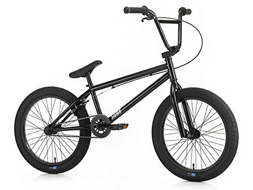 SIBMX ST-1 - Bicicletta BMX da 20,0', colore: Nero
