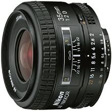 Nikon AF NIKKOR 1923 35mm f/2D Lens with Auto Focus for Nikon DSLR Cameras