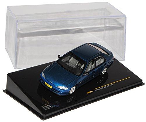 Ixo Hon-da Civic Sir EG9 Limousine Blau 1991-1995 MOC177 1/43 Modell Auto mit individiuellem Wunschkennzeichen