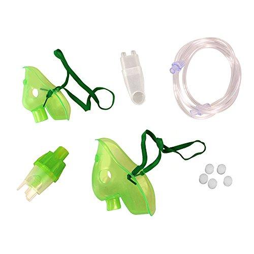 Zubehör für Inhaliergerät Omnibus BR-CN116B Maske für Kinder und Erwachsene Vernebler Luftschlauch Mundstück Filter