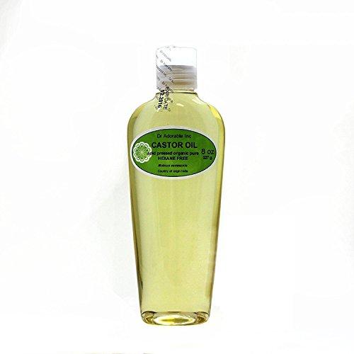 Castor Oil Pure Organic 8 Oz