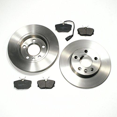 Bremsscheiben Ø 280 mm/Bremsen 2E2 + Bremsbeläge + Warnkabel hinten