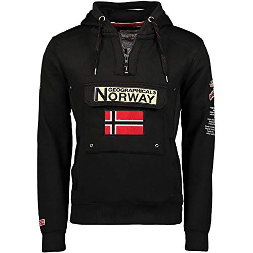 Geographical Norway GYMCLASS Men - Sweat À Capuche Poche Kan