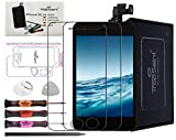 Trop Saint Écran Compatible avec iPhone 5C Noir - Kit de Réparation Complet avec Notice, Tapis de Repérage Magnetique, Outils et 2 Films Protecteurs d'écran