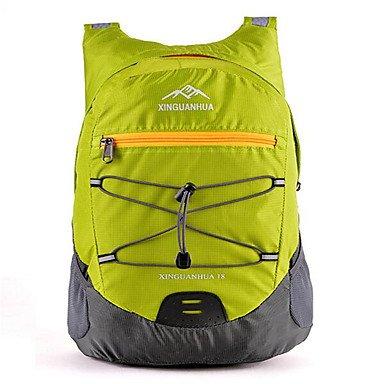 BBYaKi 18 L Zaini Da Escursionismo Ciclismo Backpack Zaino Scalate Attività Ricreative Ciclismo/Bicicletta Campeggio E Hikingompermeabile , Fuchsia