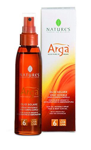 argà Huile Solaire Spray LSF6 150 ml