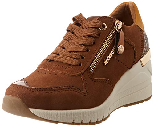 Dockers by Gerli Damen Oriana Sneaker, Cognac/braun, 40 EU