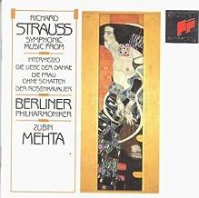 Strauss: Symphonic Music From Operas / Berlin Philharmonic / Mehta (Sony)