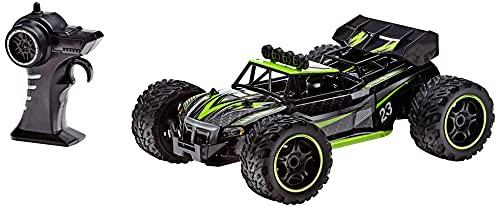 Carrera RC 2,4GHz Grüner Race Buggy I ferngesteuertes Auto ab 6 Jahren für drinnen & draußen I inkl. Batterien und Fernbedienung I Spielzeug für Kinder & Erwachsene I sofort einsatzbereit
