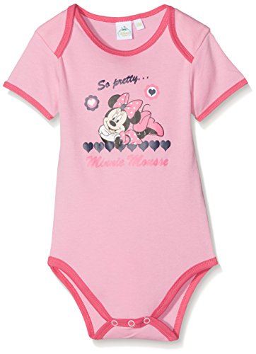 MINNIE Mouse So Pretty, Body Bébé Fille, Rose (Pink 14) 18-24 mois (Taille fabricant: 24 Month)