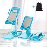 Hapfish Supporto Cellulare/Tablet, Pieghevole Porta Telefono da Tavolo, Ufficio Accessori ...