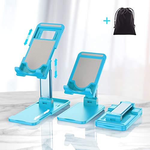 Soporte de teléfono celular para escritorio, Hapfish ajustable para tableta teléfono móvil para vídeo, accesorios de oficina