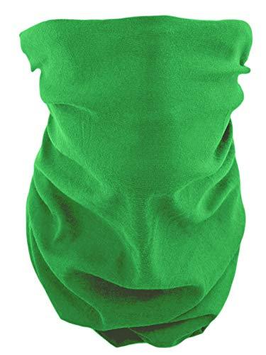 Foulard tube multifonction -  vert - Taille Unique