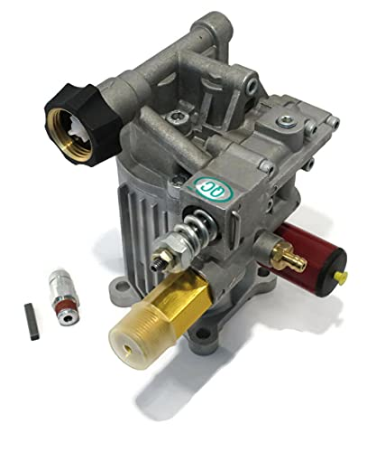 Himore   Pressure Washer Pump fits Many Makes & Models with Honda GC160 Horizontal Engines, 7/8' Shaft