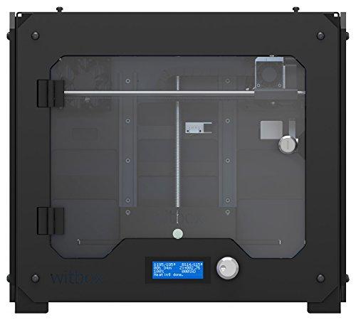 BQ WitBox 777-1000 3D Printer, Black
