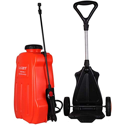 KBEST Electric Sprayer,18L Litre BackpackPush Knapsack Pressure Sprayer Push,Pump Action, Ideal with Weed killer, Pesticides, Herbicides, Insecticides, Fungicides - Water Pump Sprayer,4