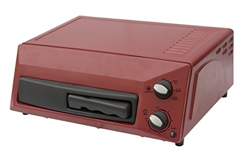 Magic Chef Countertop Pizza Oven HQPZO13R Red, 12 inches