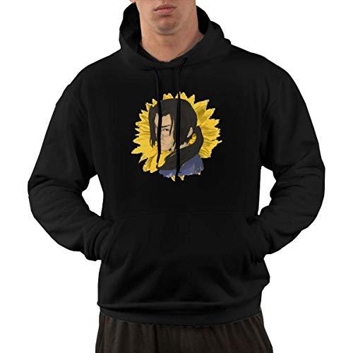 Christopherly Herren Samurai Champloo Baumwolle Hoodies Pullover Schwarz Gro?