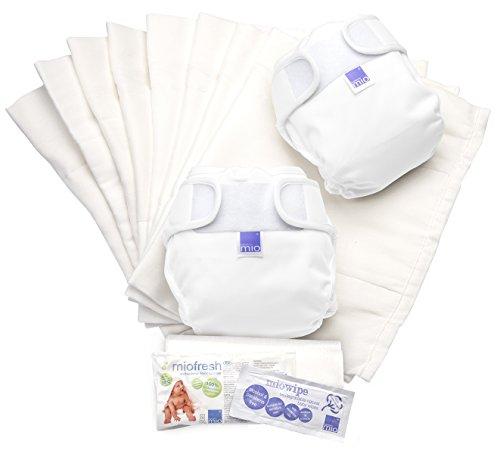 Bambino Mio, mioduo pack de couches lavables de confort, blanc, taille 1 (-9 kg)