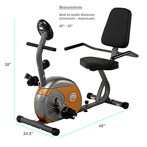 Best Exercise Bike Under 200 - Marcy Recumbent Exercise Bike