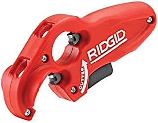 RIDGID 41608 Model PTEC 3000 Plastic Drain Pipe Cutter, 1-1/4-inch and 1-1/2-inch Tubing Cutter