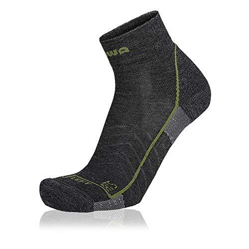 Lowa ATS Grau, Merino Socken, Größe EU 39-40 - Farbe Anthrazit