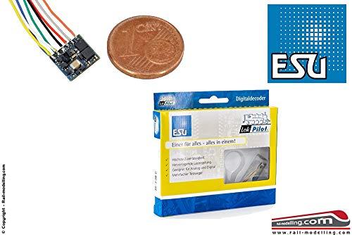 ESU 53620 LokPilot Fx Nano, Funktionsdecoder MM/DCC, 8-pol. Kabel