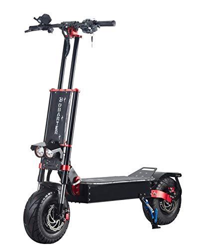 OOTD Patinete eléctrico Plegable, Motor eléctrico de 5600W, patineta eléctrica para Adultos,...