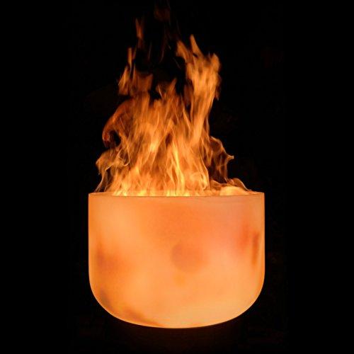 muenkel design Glas Feuerschale: 51 cm