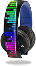 MightySkins Skin Compatible with Sony PS4 Gold Wireless Headset Headphones Sticker Skins Keep The Beat