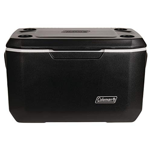 Coleman Xtreme 5 Cooler | 70 Quart Day Cooler | Hard Cooler Keeps Ice Up to 5 Days, Black