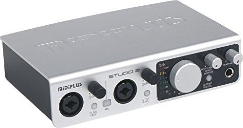 Midi Plus Studio 2 USB Audio Interface