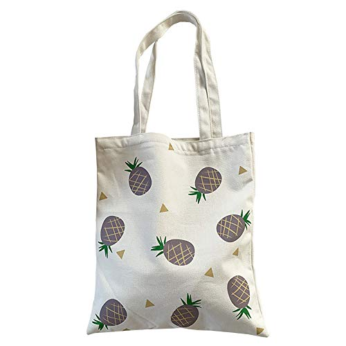 Women canvas Tote Bag for Women Girls Kids school Shoulder Bag with zipper For Work Beach Lunch Travel and Shopping Grocery Casual Bag