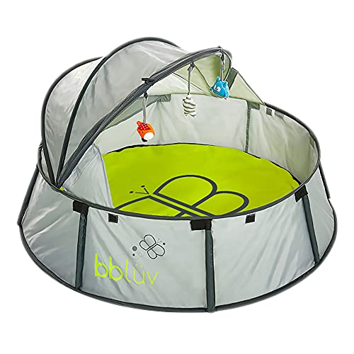bblüv - Nidö - 2-in-1 Travel & Play Tent - Fun Canopy with UV Protection for Babies and Infants