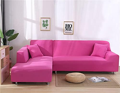 WXQY Wohnzimmer einfarbig Flexible Sofa Schutzhülle Kombination rutschfeste L-förmige Ecksofa Schutzhülle A21 1-Sitzer