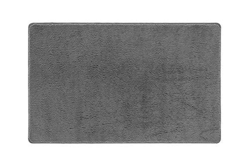 Zerbinando Tappeto Magico Microfibra ASCIUGAPASSO Lavabile Lavatrice Antiscivolo Bagno Ingresso HOUDINI65150GRIGIO