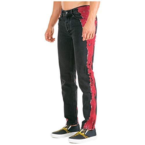 MARCELO BURLON Jeans Uomo Nero 31 W