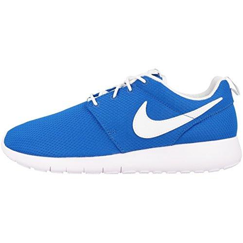 Nike Schuhe Roshe One (GS) Photo Blue-White-Safety Orange (599728-422) 40 Blau