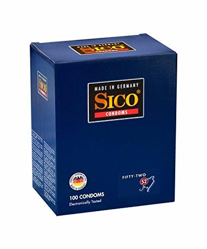 Sico 52mm Kondome–100Stück