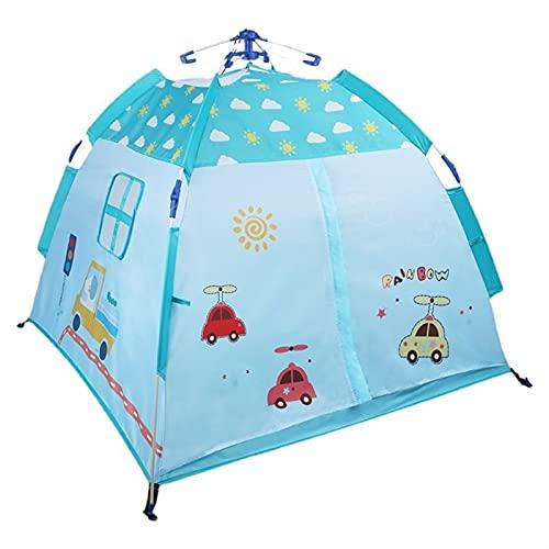 Tienda Infantil - Tienda para niños al Aire Libre Playera Interior Casa Princesa Linda Casa Play Casa Castillo Castillo Casa de Juguete Bebé (Color : Fresh Blue, Size : 1)