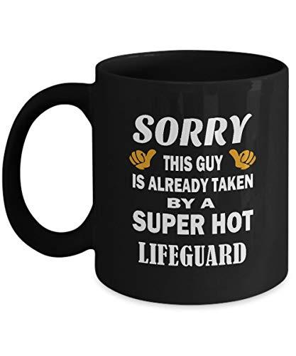 N\A Tazas de café de Salvavidas - Taza de cerámica de Salvavidas Super Caliente - Idea de Regalo Agradable para Hombres, papá, Hermano, Novio, Amigos - en cumpleaños, Navidad - Taza de té Negro