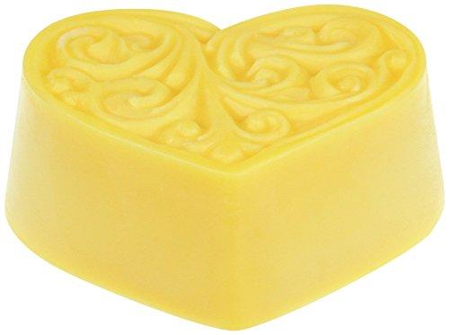 Greendoor Bodycreme-Herz Sanddorn, Körper-Butter, festes Massageöl, 80g Hautpflege mit BIO Sheabutter + BIO Kakaobutter + BIO Sanddorn, natürlich ohne Tierversuche, Geburtstags-Geschenk Valentin