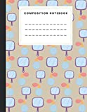 Composition Notebook: Mirror Perfume Fashion Cover With Primary Blank Handwriting Practice Paper for Kids Grades K-2