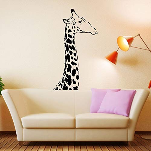 yaonuli Afrikaans design gezuurde dieren giraf muurtattoo Art Deco papier kinderkamer