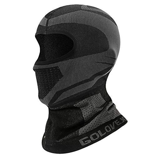 Newest Balaclava Face Mask, Warm Windproof Ski Mask, Motorcycle Neck Warmer Hood Winter Gear for Men...