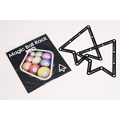 Magic Ball Rack Pro 9- & 10-Ball Aufbauschablonenset