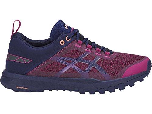 ASICS Women's Gecko XT Running Shoe Baton Rouge/Indigo Blue/Begonia Pink 8 (S)