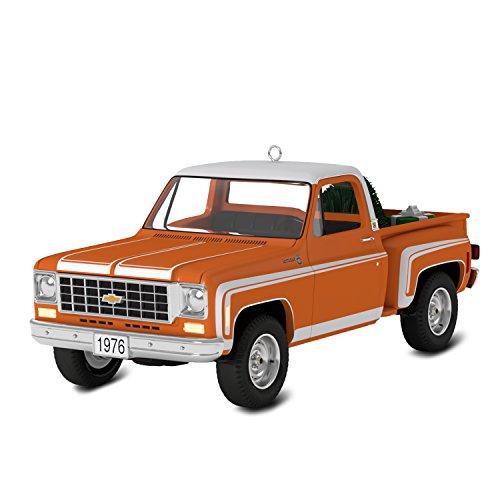 Price comparison product image Hallmark Keepsake 2017 All-American Trucks 1976 Chevrolet C-10 Sport Dated Christmas Ornament
