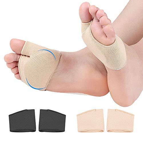 Cuscinetti Metatarsali-Cuscinetti per manica metatarsale morbidi e comodi per la palla del piede, cuscinetti per l'avampiede che alleviano il dolore per donne e uomini, 2 paia(Grande dimensione)