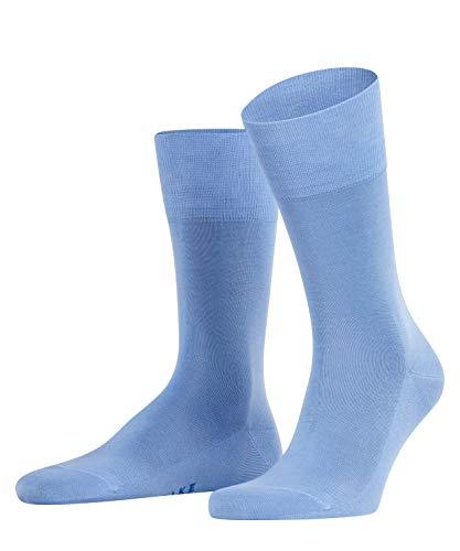 FALKE Herren Tiago M SO Socken, Blickdicht, Blau (Bleue 6543), 41-42